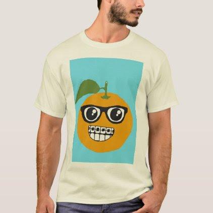 Nerddy Orange. T-Shirt