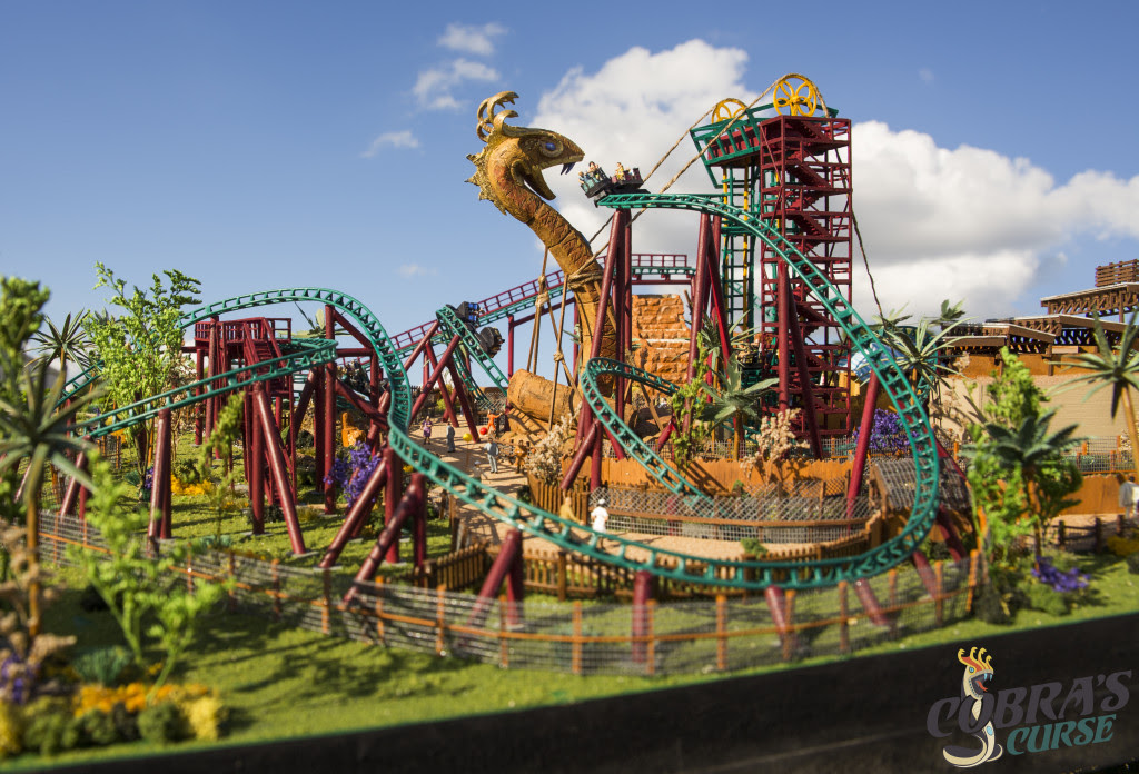 Busch Gardens Tampa Gives A Fresh Spin To Cobra S Curse With New Details Inpark Magazine