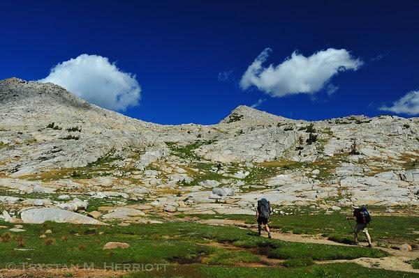 Good walking in Granite Basin.