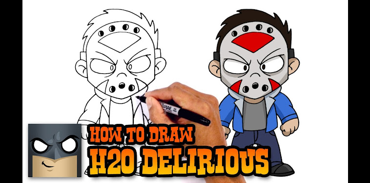 H2o Delirious Mask Drawing