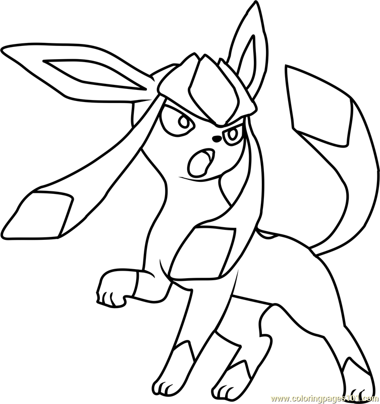 leafeon coloring pages