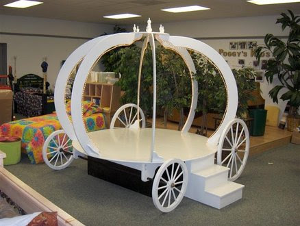 Cinderella's Coach Bed - by Chris Davis @ LumberJocks.com ...