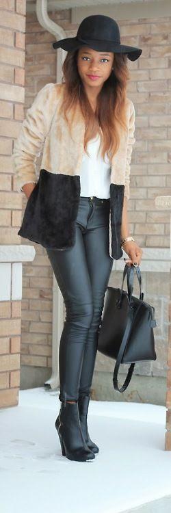 Leather and fur / La Vivientann
