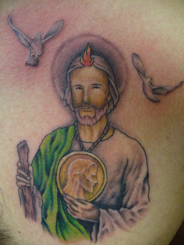 San Judas Tadeo Tattoo 58783 Loadtve