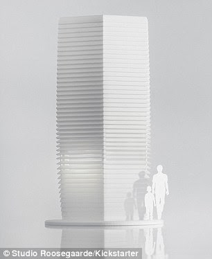 The Smog Free Tower is intended to be the 'largest purifier in the world