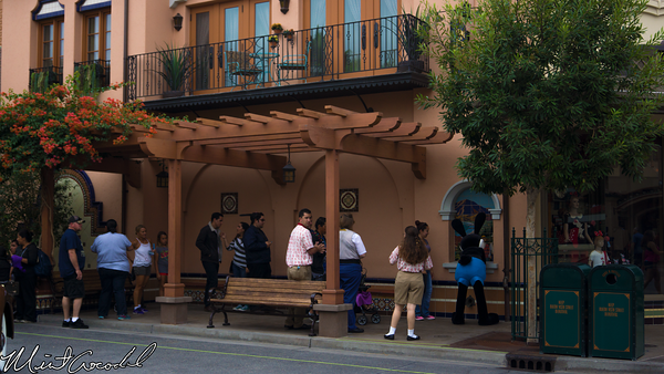 Disneyland Resort, Disney California Adventure, Buena Vista Street, Oswald, Meet and Greet