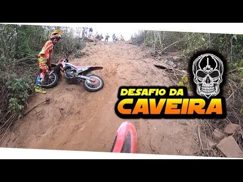 Desafio da Caveira na trilha de moto em Salgado de São Félix 2021