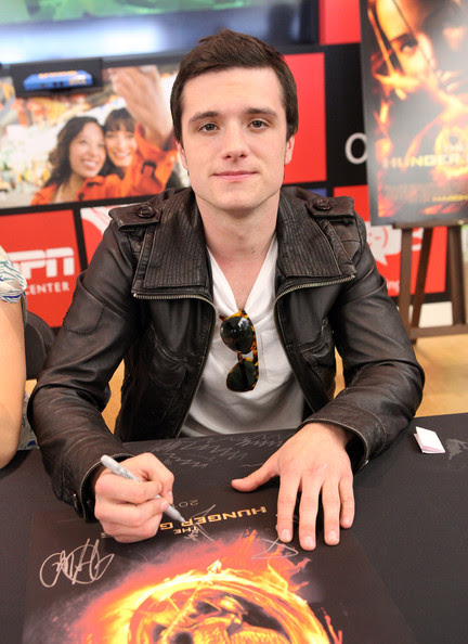 Actor Josh Hutcherson attends The Hunger Games U.S. Mall Tour Kick-Off at Westfield Century City on March 3, 2012 in Los Angeles, California.