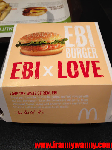 mcdonalds ebi burger