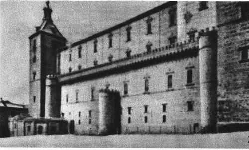 Alcázar de Toledo en 1936 antes de la Guerra Civil