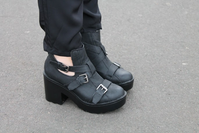 Missguided Cutout Boots