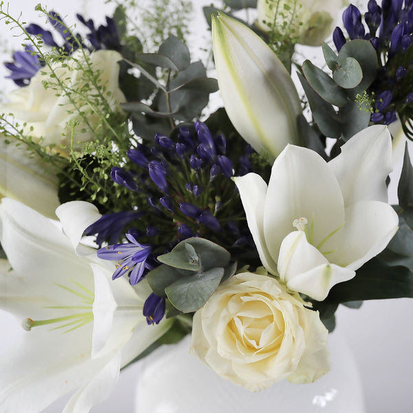 Agapanthus Bluebell Bouquet Arena Flowers Uk S No 1 Ethical Florist