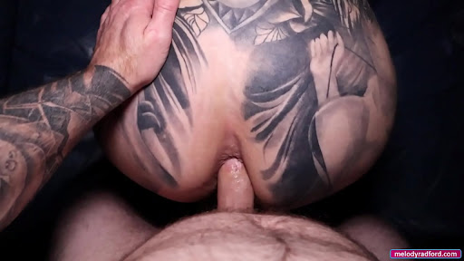 ASS Tattooed Onlyfans Milf With BIG TIT Does Close Up ANAL