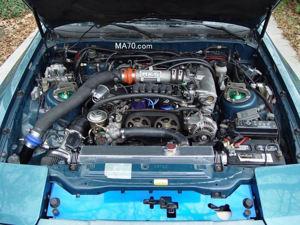 Toyota Supra: New Toyota Supra Engine BayToyota Supra - blogger