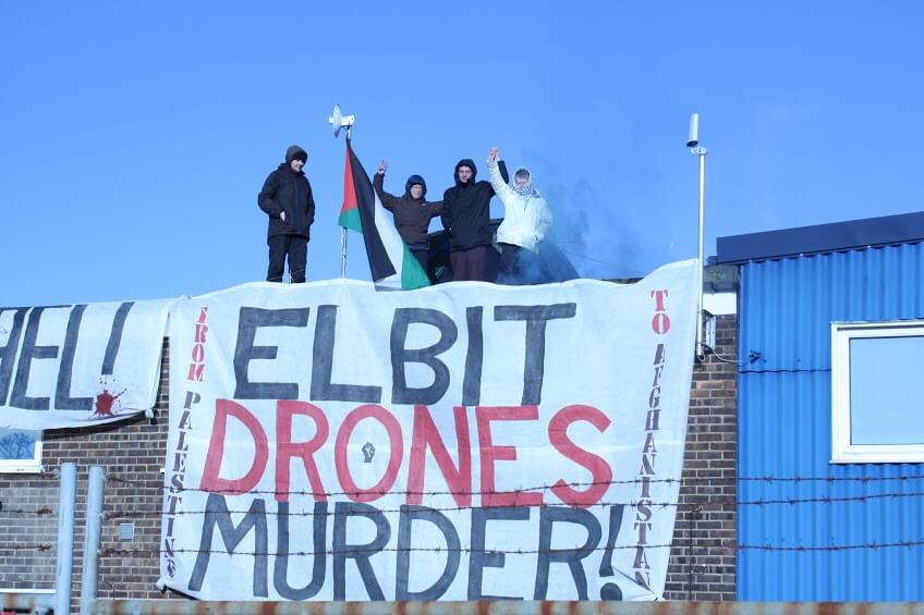 (Photo: London Palestine Action)