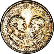 50 Centavos (Commonwealth) – reverse