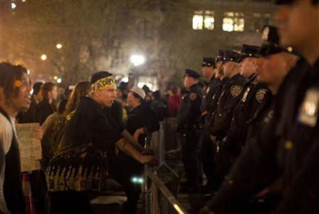 A new round of arrrests against Occupy Wall Street demonstrators took place on March 24, 2012 in New York City. The police repression against the popular movement is continuing. by Pan-African News Wire File Photos