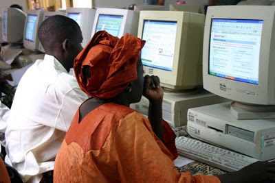 Geekcorps computer training class, Bamako, Mali