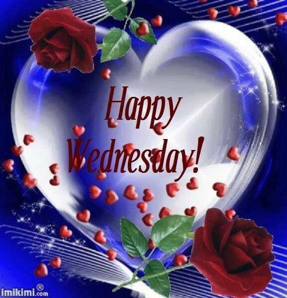 Happy Wednesday Hearts And Roses Pictures Photos And Images For