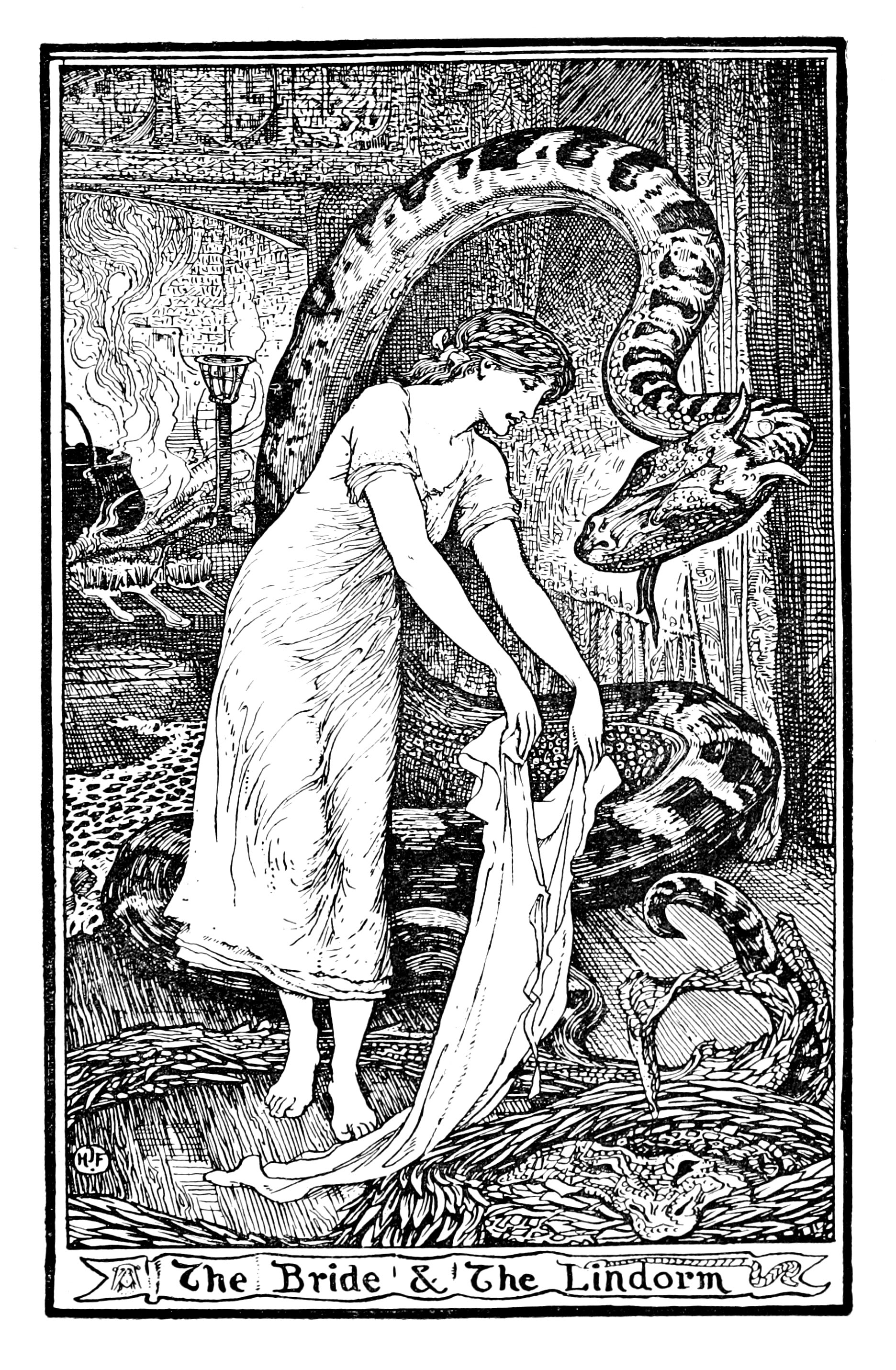 Henry Justice Ford - The pink fairy book, edited by Andrew Lang, 1897 (illustration 15)