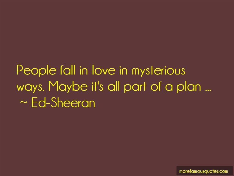 Love In Mysterious Ways Quotes Top 7 Quotes About Love In