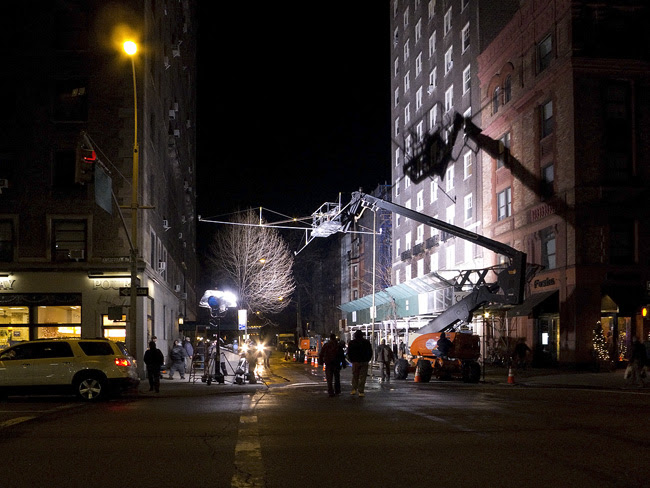 On Set, NYC