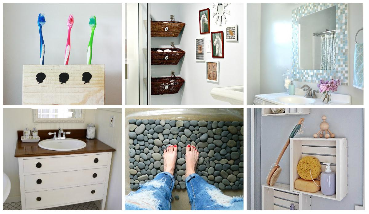 9 diy bathroom ideas