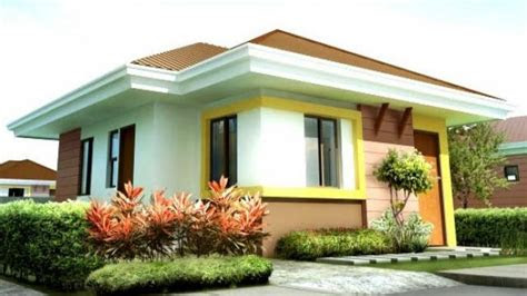 simple bungalow simple house design   philippines