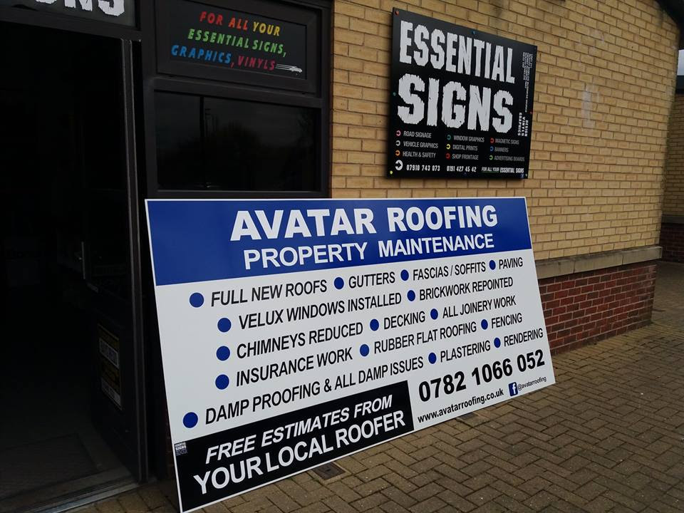 Advertising Boards – ESSENTIAL SIGNS