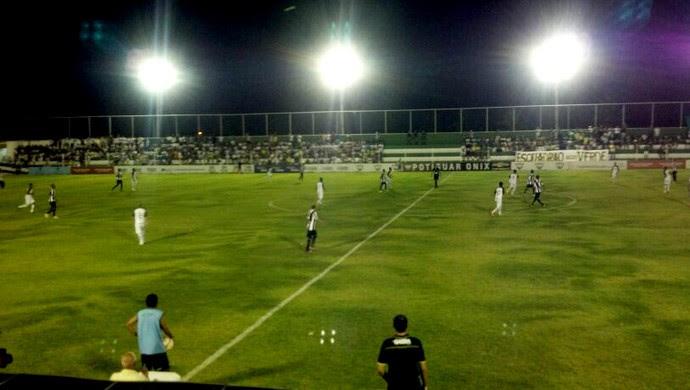 Alecrim x ABC, no Estádio Ninho do Periquito (Foto: Danilo Ribeiro)