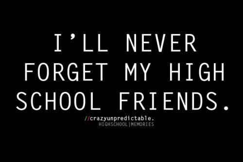 High School Days Quotes Wwwpicswecom