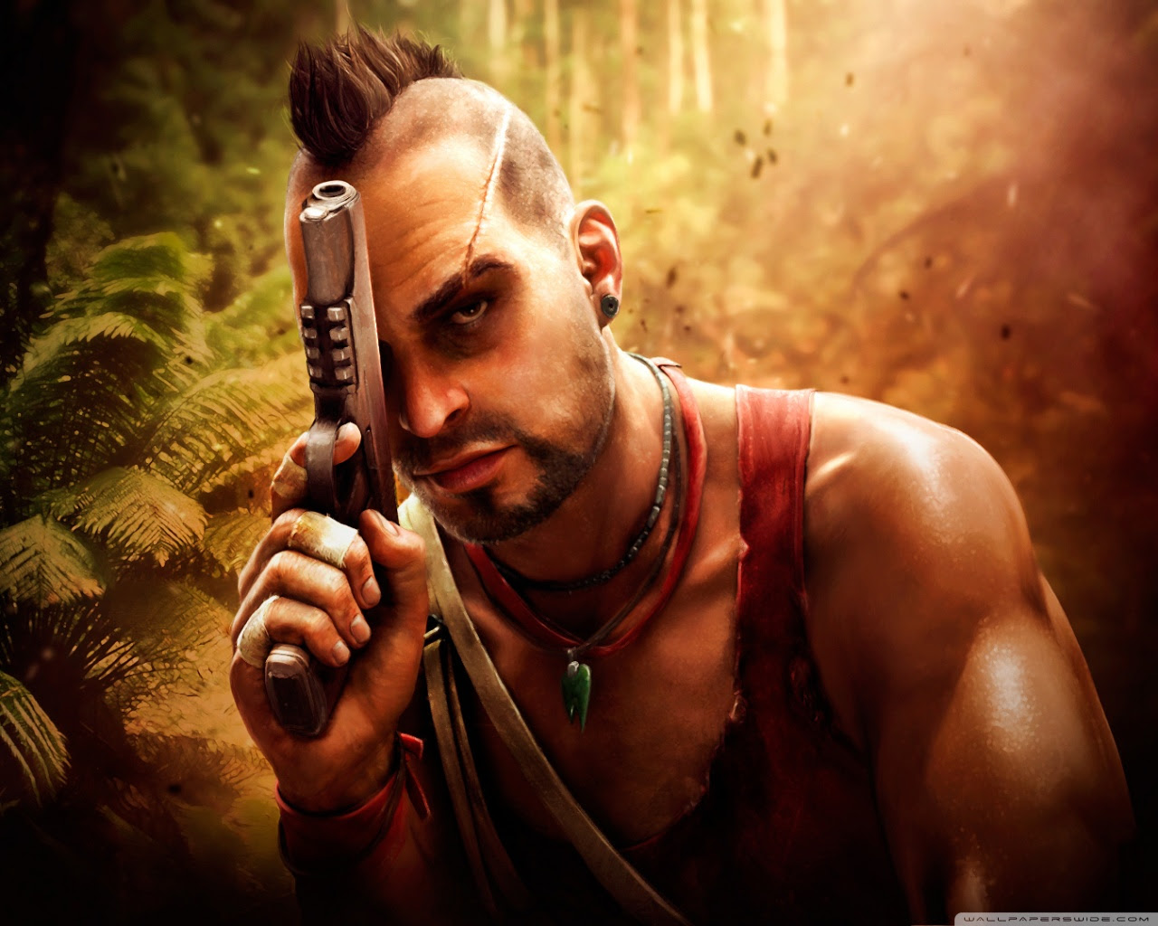 Vaas Far Cry 3 Ultra Hd Desktop Background Wallpaper For 4k Uhd Tv