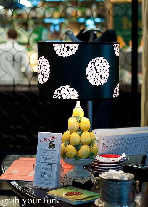 lemon lamp