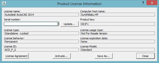 Autodesk Autocad 2019 Serial Number - Autocad - Design