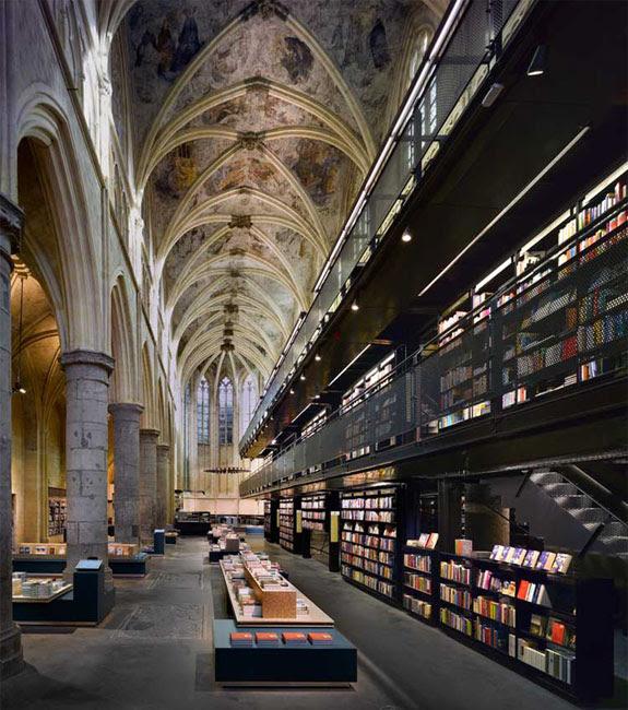 selexyz dominicanen 2 The Worlds 6 Coolest Looking Bookstores