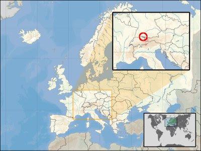 location of buchhorn in europe
