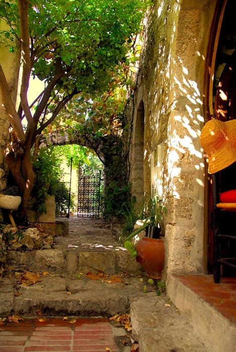 Ancient Passage, Eze, Cote d'Azur, France