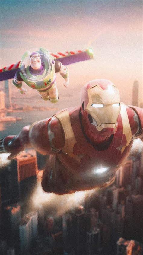 iron man  buzz lightyear iphone wallpaper marvel wallpaper iron man