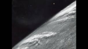 La Tierra vista desde el espacio.