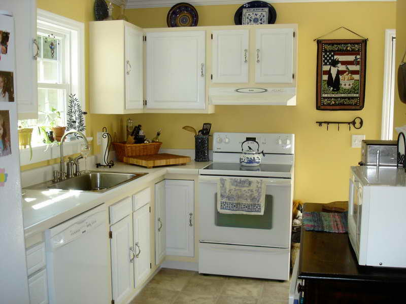 Paint Colors for Kitchen with White Cabinets - Decor ...
