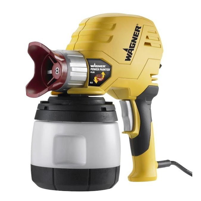 Wagner Power Painter Plus With Ez Tilt Electric Handheld Airless Paint Sprayer In The Airless Paint Sprayers Department At Lowes Com