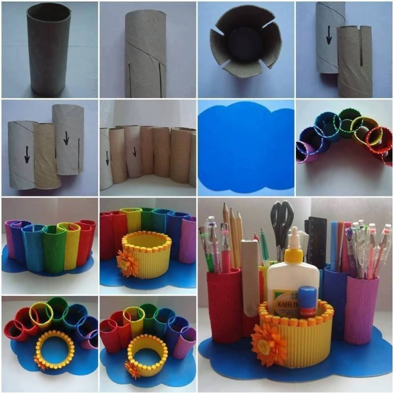 втулки от туалетной бумаги применение