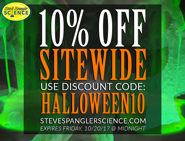 25% Off Sitewide Halloween Sale
