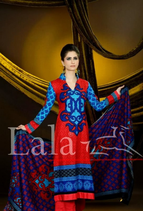 Beautiful-Girls-Ladies-Wear-New-Fashion-Khaddar-Clothes-by-Lala-Textiles-And-Afreen-5