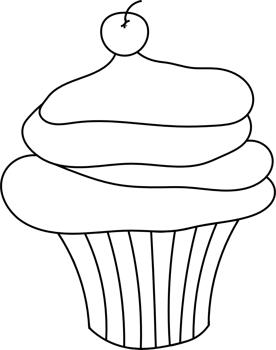 Clipart Cake Outline
