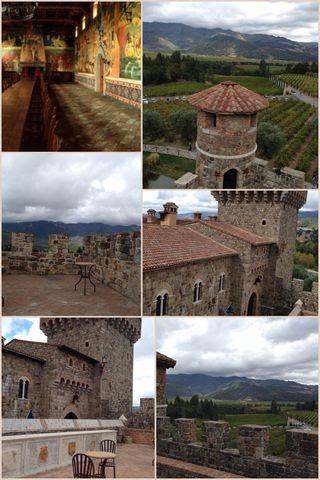 31 Days of Halloween: Scenes from Castelo de Amarosa Vineyards