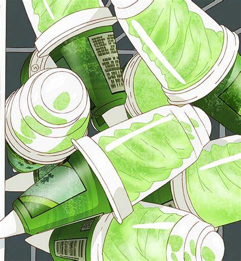 green tea ice cream anime food stuff   food