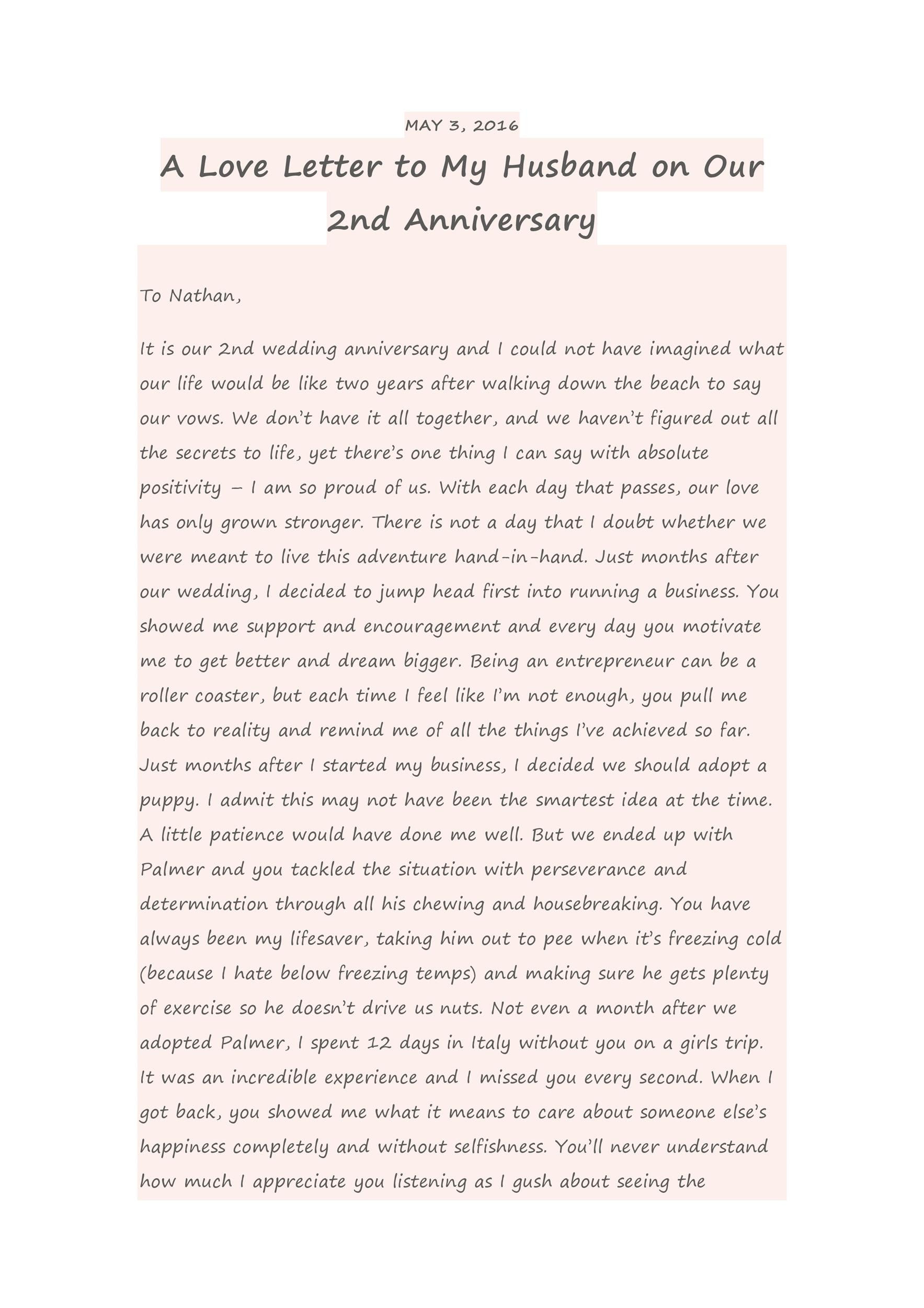 2 Year Anniversary Letter To Boyfriend from lh4.googleusercontent.com