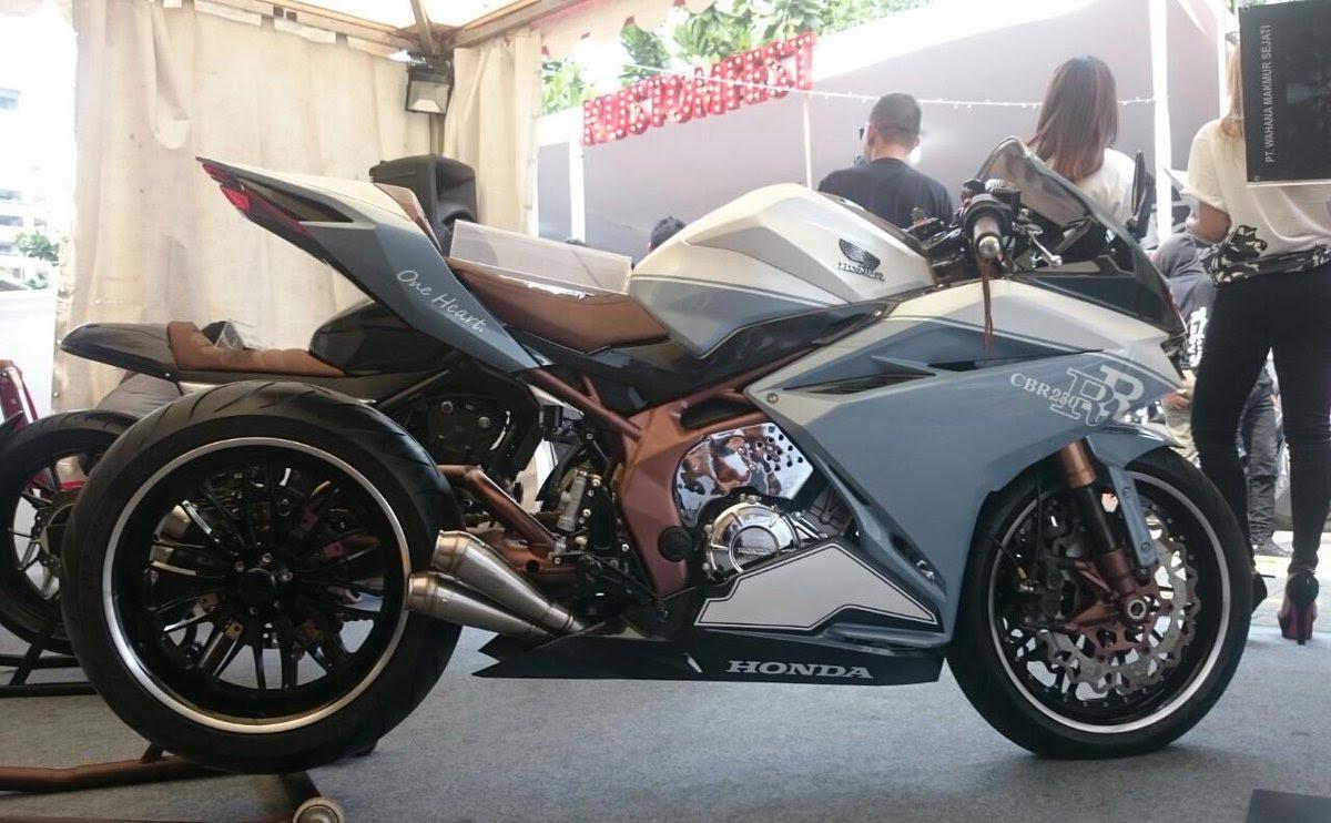 Modifikasi Honda CBR250RR Cowboy Konsep Japanese Low Rider Tahun
