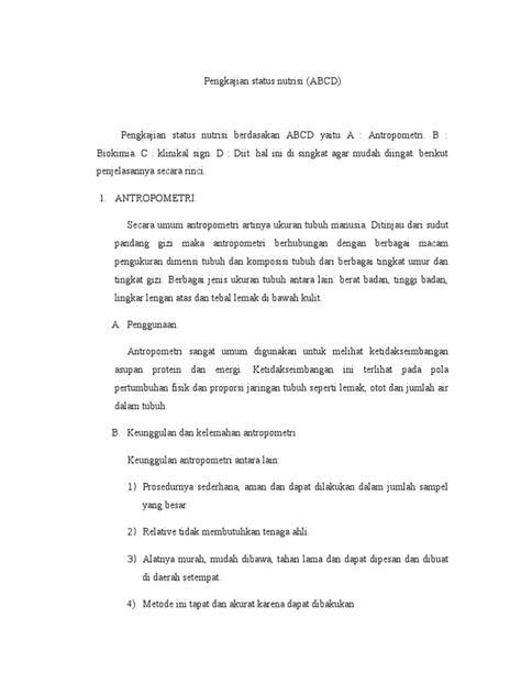 Contoh Askep Pengkajian Abcd - Simak Gambar Berikut